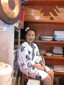 little sushi girl